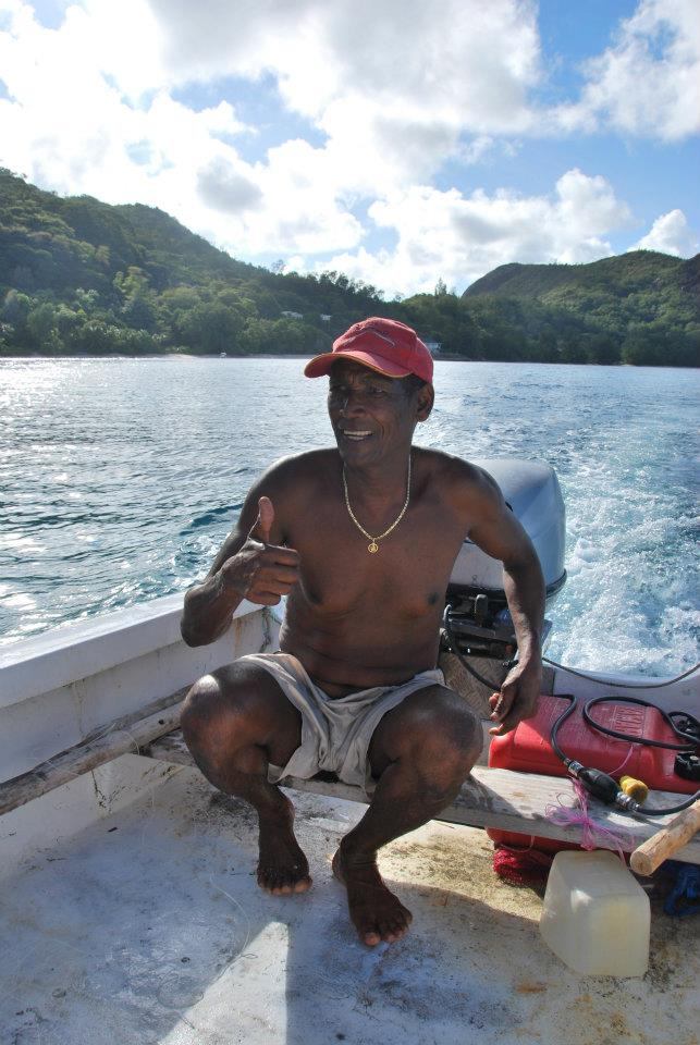 pêcheur seychelles