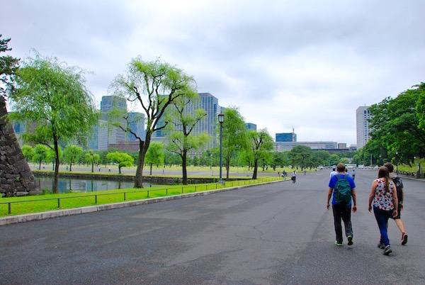 Le parc du Palais Impérial