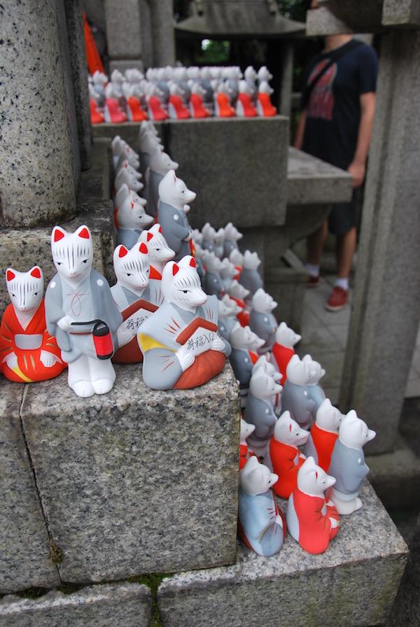 Fushimi foxes