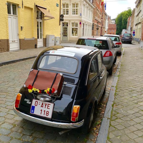 Car in Bruges