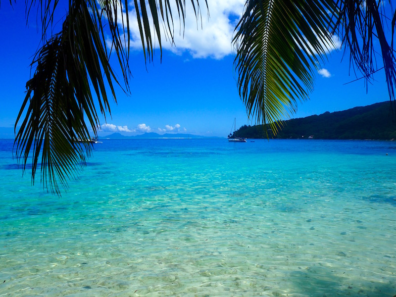 Plage Polynésie