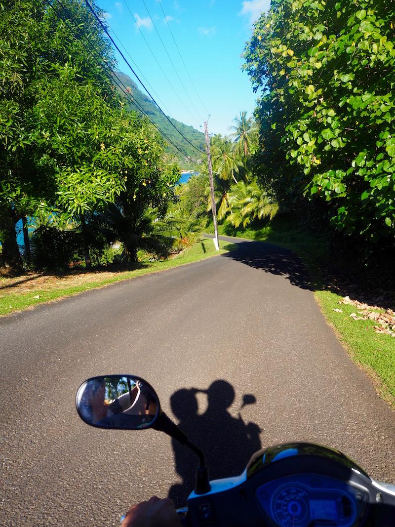 Polynésie sur les routes d'Huahine