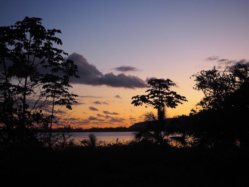 coucher soleil taravao